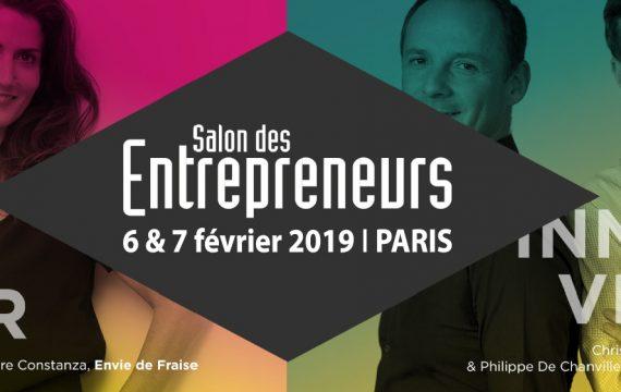 Déplacement gratuit au Salon des Entrepreneurs de Paris
