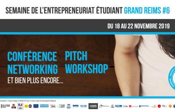 Semaine de l'Entrepreneuriat Étudiant Grand Reims 2020